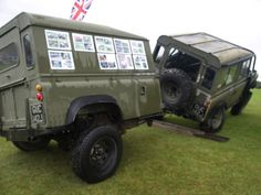 land rover trailer - Google Search