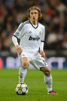 Luka Modric - Real Madrid; love his outside foot cross