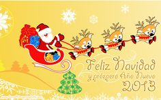 feliz navidad y año nuevo 2013