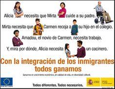 Inmigración, integración. Campaña