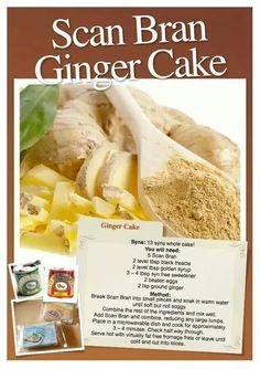 Scan Bran Ginger Cake