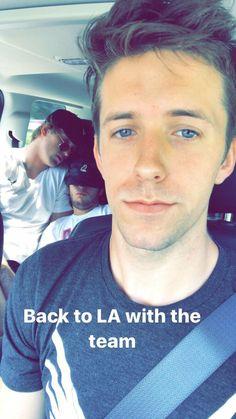 Logan Paul and Brendan North with dwarf mamba Evan !!!; So cute! They're asleep
