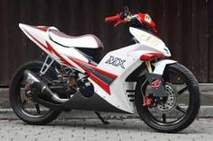 Modifikasi Motor Yamaha Jupiter mx