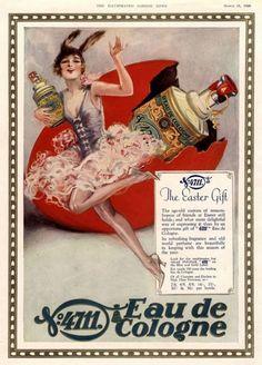 weirdvintage:  4711 Eau de Cologne ad, 1928 (via Vintage Ad Browser)