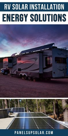 Are you full time in your RV? Or maybe just looking at options for your weekend getaway vacation and you don't want to be tied to an RV park pedestal. We can help you with all your RV solar questions including batteries, inverters, solar panels and more. If you're new to the RV lifestyle, and want to visit all your favorite travel destinations, all while living off grid and being more self sufficient, we can help you with that too. Call us, and we'll help give you all your RV solar options. Rv Camping Accessories, Rv Accessories, Rv Travel, Travel Destinations, Home Panel, Diy Rv, Best Solar Panels, Solar Installation, Diy Solar