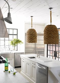 Woven Ceiling lamp