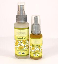 Rosalina je vzácny druh austrálskeho čajovníka s príjemnou vôňou ruží. Výrobky s týmto olejom sú vhodné na mastnú, mladú a problematickú pleť.
