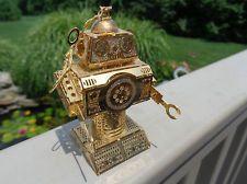 RARE 2003 BALDWIN 24 KT GOLD FINISHED BRASS -ROBOT-CHRISTMAS ORNAMENT