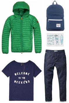 Welcome to the weekend | Save the Duck, Maison Scotch and Herschel | www.eb-vloed.nl