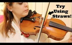 (ME: Yes - Straws worked helped me a lot) Practice Tips for Keeping the Bow Straight - Violin Violin Bow, Violin Sheet Music, Violin Bridge, Violin Quotes, Electric Violin, Ukelele, Violin Lessons, Lessons For Kids, Music
