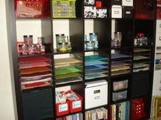 Fantastic scrapbook/craft room storage! by rosalyn