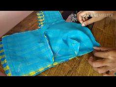 44 inch blouse stitching || full tutorial - YouTube Blouse Desings, Sari Blouse Designs, Gold Work, Cuttings, Pattern Cutting, Dress Cuts, Indian Designer Wear, Muhammad, Princess Cut