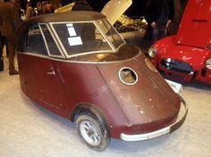 1941 Pierre Faure type PFA electric trike