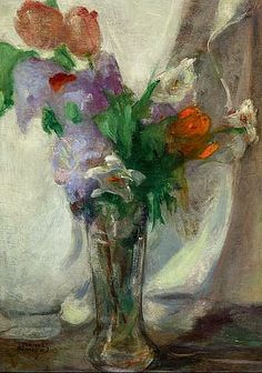 Theofrastos Triantafyllidis Vase of Flowers 1925-30