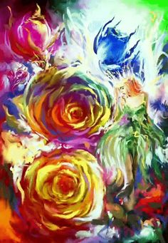 Discover & share this Art GIF with everyone you know. GIPHY is how you search, share, discover, and create GIFs. Undisclosed Desires, Creative Art, Flowers, Artist, Painting, Gifs, Artists, Painting Art, Paintings