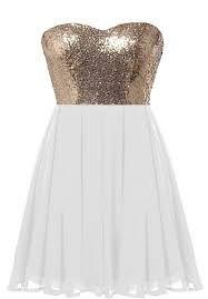 Image result for gold skater dresses