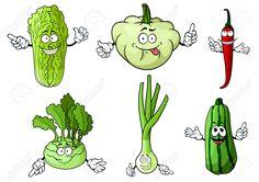 43009400-Fresh-cartoon-green-onion-chili-pepper-chinese-and-kohlrabi-cabbage-pattypan-squash-and-zucchini-veg-Stock-Vector.jpg (1300×919)