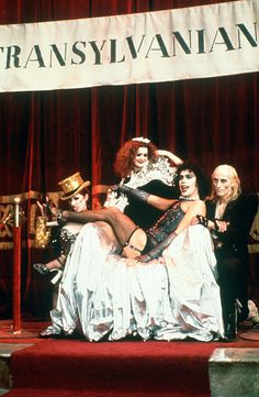 "Need a banner ""Annual Transylvanian Convention"" and silver fabric to cover the chair"