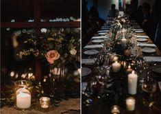 caledon wedding florist - Cedar & Stone Floral Studio Candle Centerpieces, Wedding Centerpieces, Candles, Our Wedding, Table Decorations, Studio, Stone, Floral, Rock
