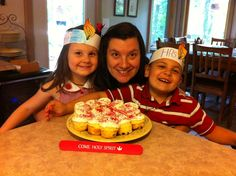 PENTECOST 2013--celebrating the birthday of the Catholic Church with Holy Spirit flame headbands and red sugared cupcakes.