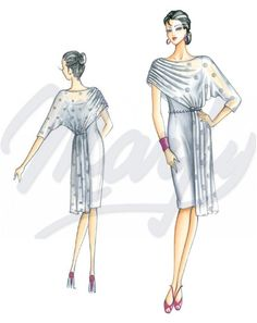 Sewing pattern DressSewing Pattern 3323