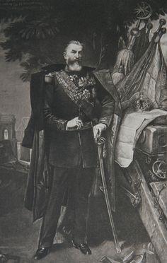 Carol I - începutul modernizării României şi cucerirea independenţei. Principele s-a implicat în războiul ruso-turc din 1877-1878, obţinând desprinderea de Imperiul Otoman. Declaraţia a fost făcută la 9 mai de ministrul de Externe, Mihail Kogălniceanu, aflat în Camera Deputaţilor. A doua zi, Independenţa a fost proclamată şi în Senat, fiind ratificată de domnitor. Propaganda timpului a consemnat ziua de 10 Mai ca aniversare a Independenţei, pentru a coincide cu data urcării de Tron… Ferdinand, Bulgarian, My Father, Old Pictures, Royalty, Culture, Greeks, Painting, Books