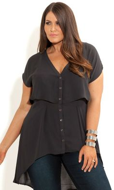 Plus Size Fashion Tops, Tunics, Shirts, Sweaters and more | City Chic - City Chic