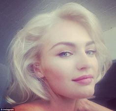 In which Victoria Hunter works her hair painting magic on Candice Swanepoel and results are platinum and fantastic.  #WhittemoreIs