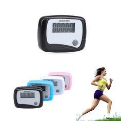 Free Shipping Mini Portable Step Counter Run Walking Pedometer Distance Calorie