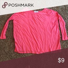 Piko top! Looks large but really fits nicely!! Tops