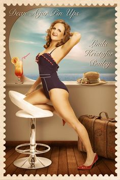 Pin up digital backgrounds 06