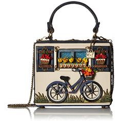 Enjoy exclusive for MARY FRANCES Ride On Beaded Bicycle Novelty Top Handle bag online - Topbrandsclothing Unique Handbags, Unique Bags, Mary Frances Handbags, Novelty Bags, Bicycle Women, Fashion Bags, Fashion Ideas, Fashion Outfits, Best Bags