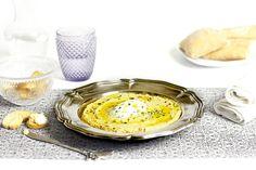 Receta de hummus en Crock pot Recetas Crock Pot, Barbacoa, Tahini, Slow Cooker Recipes, Mousse, Cooking, Breakfast, Ethnic Recipes, Food