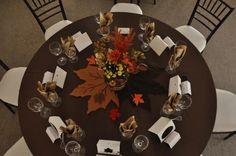 Fall table decor, wedding reception Fall Wedding Flowers, Wedding Flower Arrangements, Autumn Wedding, Wedding Bouquets, Thanksgiving Flowers, Thanksgiving Decorations, Wedding Decorations, Table Decorations, Decor Wedding