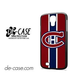 Montreal Canadiens Logo Carbon DEAL-7412 Samsung Phonecase Cover For Samsung Galaxy S4 / S4 Mini