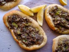 AISH BEL LAHM (Savory flat breads) | Tenina | Thermomix | HotMixPRO | Recipe