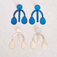 Arc Drop Chandelier Earrings