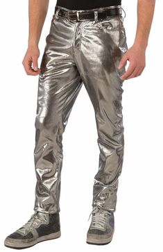 Futuristic Silver Pants Robot Space Fancy Dress Up Halloween Costume Accessory Up Halloween Costumes, 80s Costume, Halloween Costume Accessories, Theme Halloween, Girl Costumes, Halloween 2020, Halloween Ideas, Space Girl Costume, Space Costumes