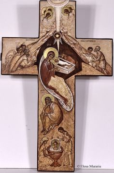 Infancy of Christ 9 Religious Images, Religious Icons, Religious Art, Christ The King, The Cross Of Christ, Byzantine Icons, Byzantine Art, Angelic Symbols, Wooden Chair Plans