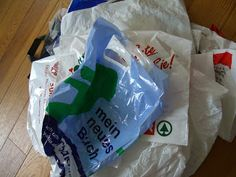 Draußen nur Kännchen!: Aus Plastiktüten Stoff herstellen