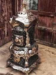 Antique Heaters & Wood Burning Stoves   Antique Stoves