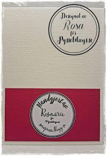 Alla änglar har fått en ny vän - Handmade of... a DT-card made by Rosa  http://pysseldags.se