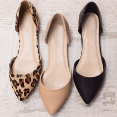 I am desperate for a pair of leopard flats!!..I would wear them everyday with everything :-D