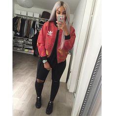 Casual Fall Outfits for Teens: Baddie Style Dope Fashion, Fashion Killa, Urban Fashion, Womens Fashion, Latest Fashion, Moda Outfits, Trendy Outfits, Fashion Outfits, Mode Adidas