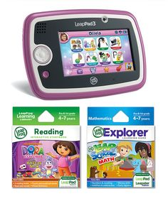Look what I found on #zulily! Pink LeapPad3 Tablet & Game Set by LeapFrog #zulilyfinds