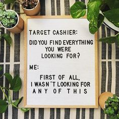 Everytime   #Repost @oaknashville  Dear @target   I hate that our relationship has come to this but we need to talk.  #letterfolk #letterfolkquotes #letterfolkco #targetdoesitagain #targetdollarspot #targetmom #targetproblems