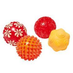 4 balles sensorielles