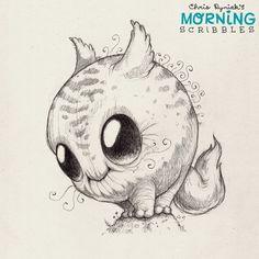Happy Monday!  #morningscribbles | 출처: CHRIS RYNIAK