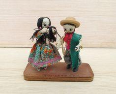 Brazilian Folk Art Dolls South America Doll by TREASUREandSUCH