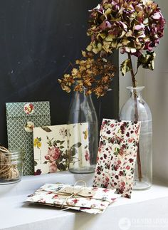 How to make an envelope from pretty paper scraps http://www.countryliving.co.uk/create/craft/how-to-make-an-envelope
